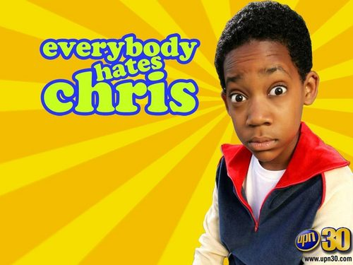 Everybody Hates Chris wallpaper probably with a parasol, a sign, and a portrait titled Everybody hates Chris