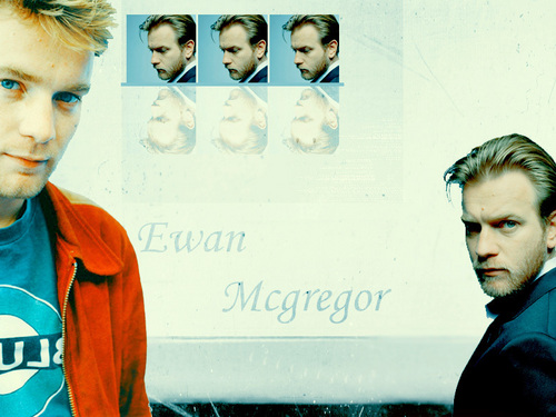 Ewan McGregor 壁纸 possibly containing a sign and a portrait titled Ewan 壁纸