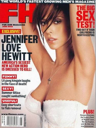 FHM-Jeniifer upendo Hewitt 2002