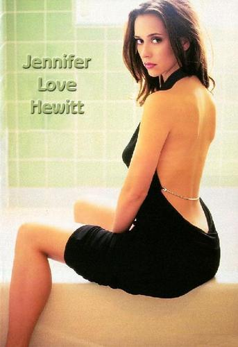FHM-Jennifer Любовь Hewitt 2002