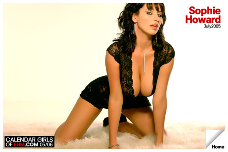 FHM - sophie howard