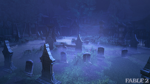 "Fable 2 screenshot  ""Graveyard"" - fable Screencap"