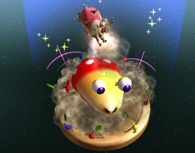 Super Smash Bros. Brawl karatasi la kupamba ukuta entitled Final Smash Trophy