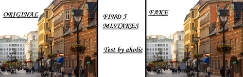 Personality Test wallpaper titled Find 5 mistakes