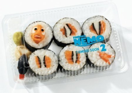 Finding Nemo Sushi! - finding-nemo Photo
