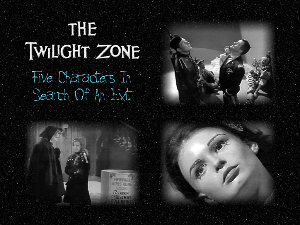 The Twilight Zone Wallpaper Called Five Characters In Cari