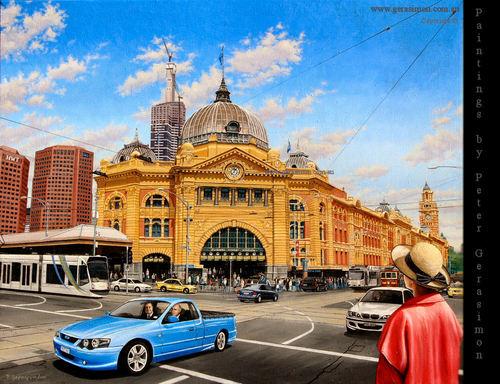 Flinders jalan Station