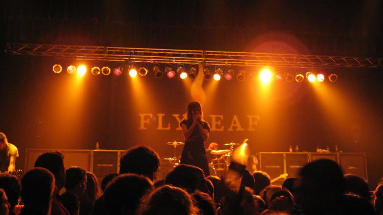 Flyleaf Concert with Skillet