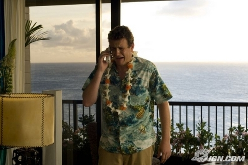 Jason Segel wallpaper probably with a resort, a beach house, and a living room titled Forgetting Sarah Marshall