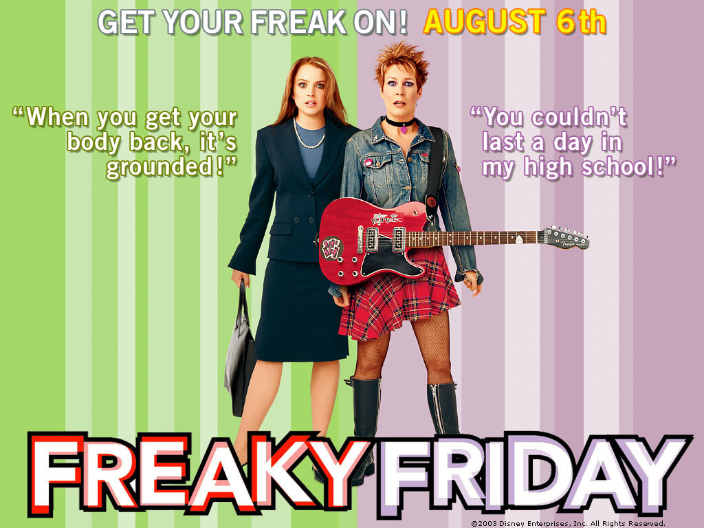 freaky friday freaky friday wallpaper 1150728 fanpop