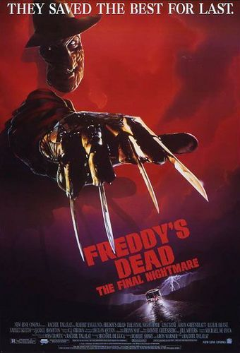 A Nightmare on Elm kalye wolpeyper with anime entitled Freddy's Dead