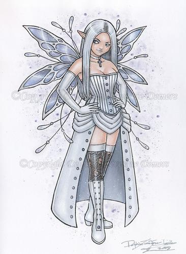 Fairies wallpaper titled Frostella