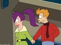 futurama - Fry & Leela wallpaper