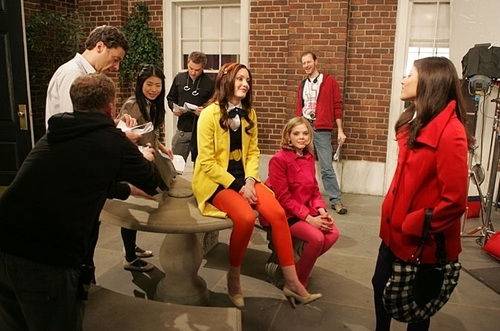 GG behind the scenes