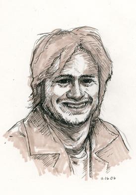 Gael Garcia Bernal Drawing