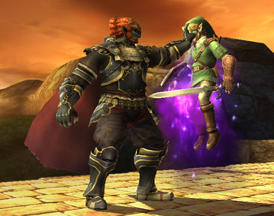 Super Smash Bros. Brawl 壁纸 probably with a rifleman, a lippizan, and a navy 密封 entitled Ganondorf