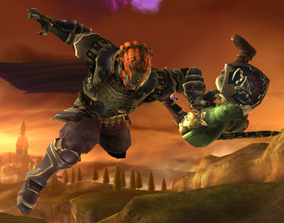 Super Smash Bros. Brawl wallpaper with a rifleman entitled Ganondorf