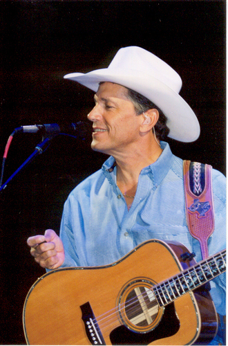 George Strait Hintergrund entitled George Strait