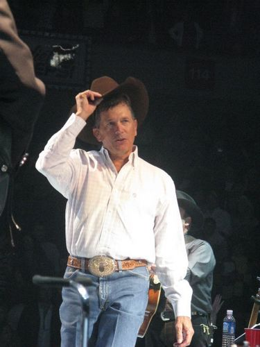 George Strait Hintergrund called George Strait