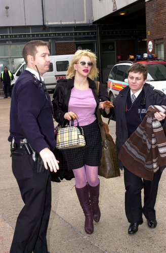 Getting arrested 02/2003
