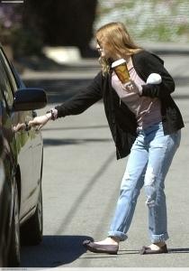 Getting coffee in LA