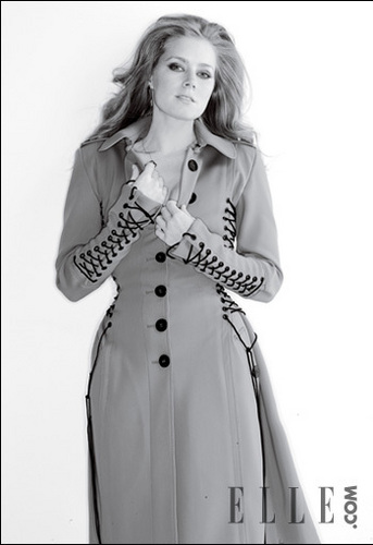 Amy Adams wallpaper containing a trench cappotto titled Gilles Bensimon Photoshoot