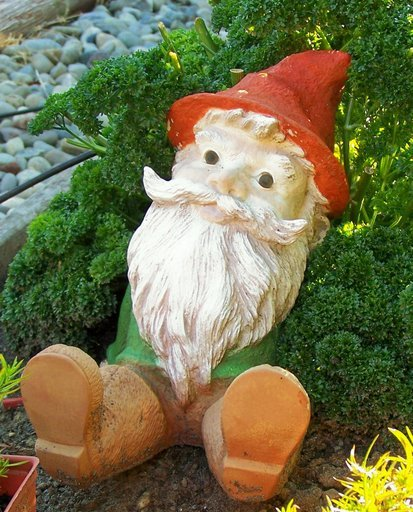 Female Garden Gnomes: Custom Girl Yard Gnome Statue