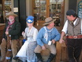 Gold Rush Days People in Costume