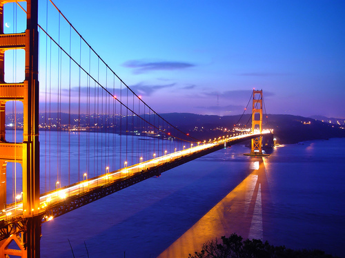 Golden Gate Bridge - san-francisco Wallpaper