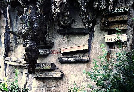 Graves on the Cliff