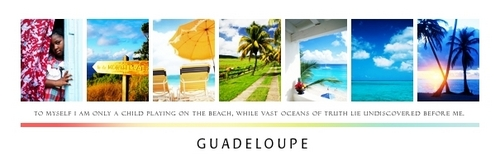 Guadeloupe Banner - travel Fan Art