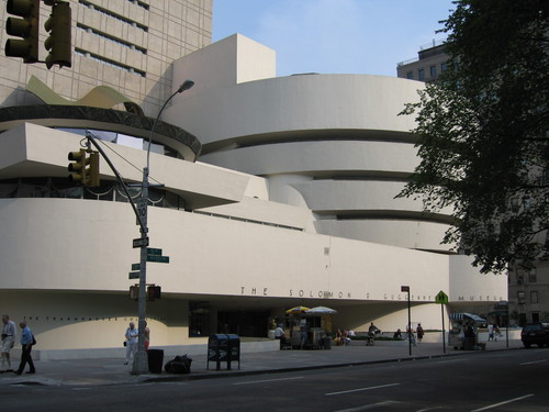 New York wolpeyper called Guggenheim Museum