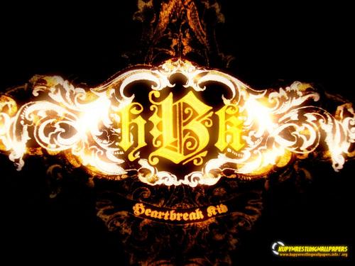 Shawn Michaels Hintergrund called HBK Logo