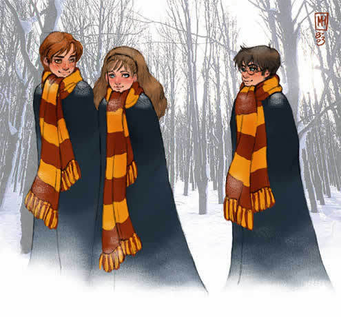 HP Fanart The Trio