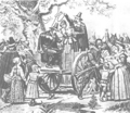Hanging of Bridget Bishop - witchcraft photo