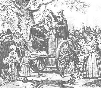 Hanging of Bridget Bishop