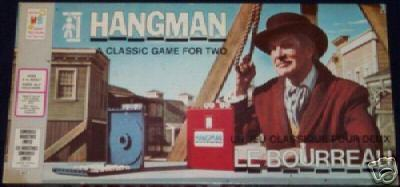Vincent Price karatasi la kupamba ukuta called Hangman board game
