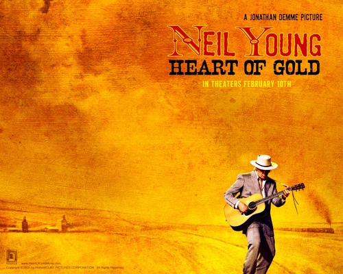 Neil Young wallpaper containing anime entitled Heart of Gold