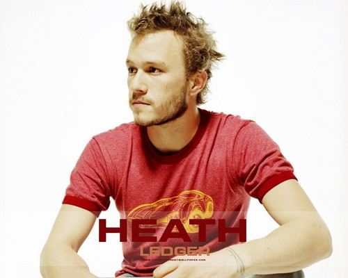 Heath Ledger wallpaper probably with a jersey called Heath Ledger
