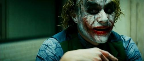 Heath Ledger is...The Joker