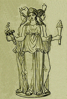 Hecate, goddess of magic