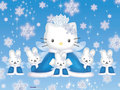 Hello Kitty winter - hello-kitty wallpaper