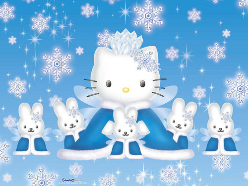 Hello Kitty wallpaper entitled Hello Kitty winter