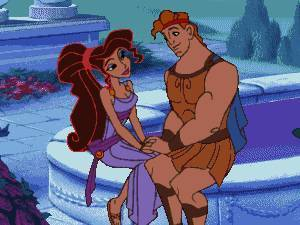 Leading men of disney wallpaper titled Hercules and Meg