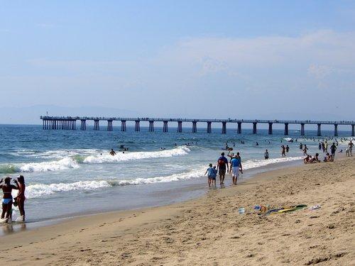 Hermosa de praia, praia