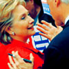 U.S. Democratic Party photo called Hillary & Bill Clinton