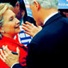 U.S. Democratic Party photo titled Hillary & Bill Clinton