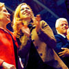 U.S. Democratic Party photo titled Hillary & Chelsea Clinton