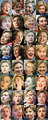 Hillarys Many Faces - us-republican-party photo