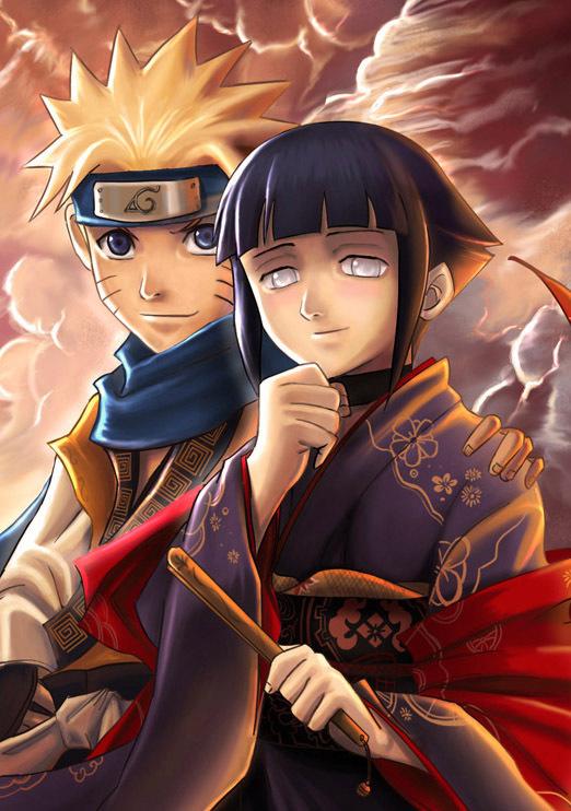 Hinata with Naruto